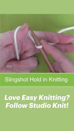 Baby Knitting Free, Cast On Knitting, Knitting Basics, Knitting Videos, Easy Knitting, Knitting Stitches, Knitting Yarn, Knitting Projects, Knitted Washcloth Patterns