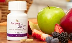Forever Daily™ with AOS Complex™ provides the most advanced nutrient delivery system available. Our proprietary new formula contains 55 perfectly balanced, aloe-coated nutrients, including recommended daily allowances of essential vitamins and minerals. Forever Living Aloe Vera, Benefits Of Running, Daily Vitamins, Forever Living Products, Aloe Vera Gel, Vitamins And Minerals, Feel Better, A Food, How Are You Feeling