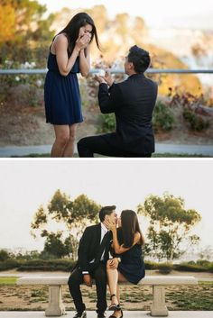 This Disney inspired proposal is so sweet, and he included all their loved ones to pop the question!