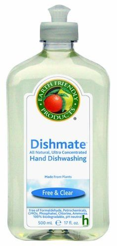 Earth Friendly Products Dishmate, Free & Clear