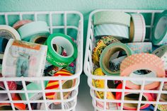 my washi tape collection - via danique