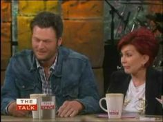 blake shelton on the talk 2013 (interview) part one