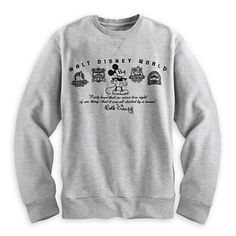 product image of mickey mouse four parks sweatshirt for men - wal Disney Sweatshirts, Hoodies, Mickey Mouse Images, Disney Outfits, Disney Clothes, Disney Fashion, Disneyland Outfits, Disneyland Trip, Disney Shirts For Family