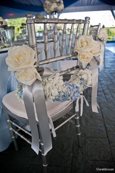 Stoneblossom Florals chair design. Absolutely beautiful!!