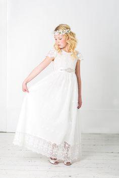 flower girl dress flower girl lace dresses first communion image 0 Girls Lace Dress, Lace Flower Girls, Lace Dresses, Wedding Dresses, Dress Lace, Dress Flower, Flower Girl Dresses, Kate Dress, Dress Up