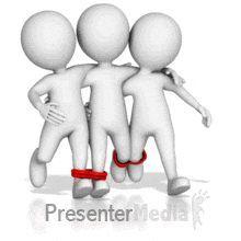 Id 13699 Four Legged Race Powerpoint Animation Animated