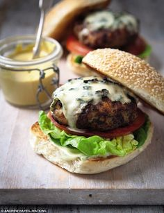 Chicken Burgers - get recipe here: http://www.dailymail.co.uk/femail/food/article-3760470/The-Hairy-Bikers-Chicken-burgers.html