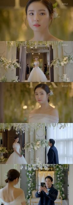 "[Spoiler] ""Black Knight"" Shin Se-kyung in a Wedding Dress"