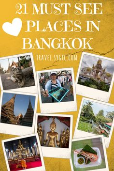 Plan your itinerary with Sygic Travel! Check 21 amazing places to see and visit in Bangkok, Thailand.