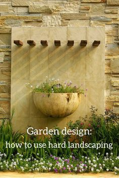 Tips and ideas on how to incorporate hard landscaping into your garden design for maximum impact and practicality.