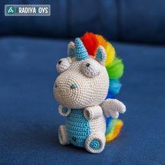 Unicorn Corki amigurumi pattern by AradiyaToys