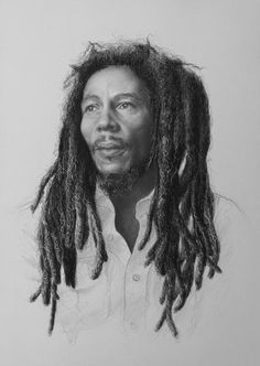 2015 'Bob Marley' - pencil on paper by sameoldkid on DeviantArt Image Bob Marley, Pencil, Dreadlocks, Deviantart, Drawings, Hair Styles, Paper, Beauty, Hair Plait Styles