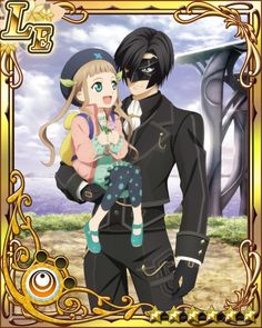 Tales of Xillia 2 - Victor and Elle (SO cute!!)
