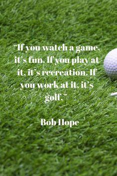 Golf Quote El Humor Humor