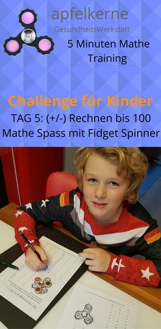 9 best Mathe Challenges Spass mit Fidget Spinner images on Pinterest ...