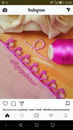HUZUR SOKAĞI (Yaşamaya Değer Hobiler) Crochet, Projects To Try, Embroidery, Lace, Crochet Bags, Tejidos, Knitting And Crocheting, Schmuck, Needlepoint