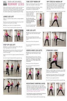 I love Victoria secret workouts :)