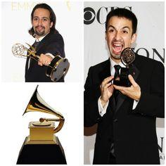 I've won, a Grammy, Tony, and Emmy! Up next is the Oscars!