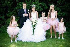Talk about BIG dresses. My Big Fat Gypsy Wedding, Gipsy Wedding, Big Dresses, Flower Girl Dresses, Wedding Dresses, Romanichal Gypsy, Wedding Ecards, Gypsy Girls, Wedding Styles