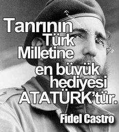Tattoo Finka Atatürk fidel castro