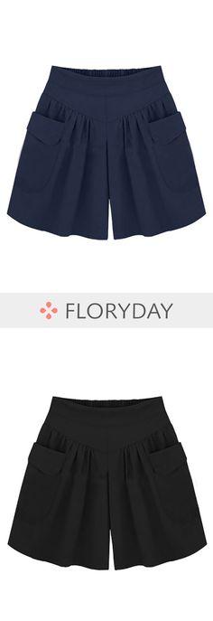 Loose Polyester Shorts Pants & Leggings, pants, loose pants, loose shorts, stylish pants, outfit, fashion pants, casual.