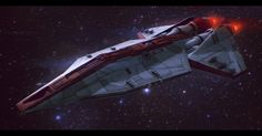 Star Wars Republic Corvette Commission by *AdamKop on deviantART