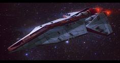Star Wars Republic Corvette Commission by *AdamKop on deviantART