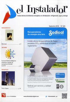 El Instalador: revista técnca de eficiencia energética en climatización, refrigeración, agua y energía. Nº 543 (Septiembre 2016). No catálogo: http://kmelot.biblioteca.udc.es/record=b1194779~S1*gag