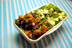 Eat Drink Play London: Lunchbox Salads: White Bean & Courgette / Sweet Potato & Beetroot