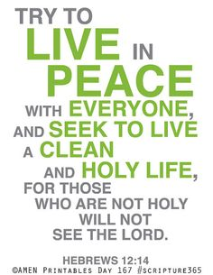 #Peacemakers alert!  Day 167 #scripture365
