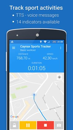Caynax GPS Sports Tracker v1.8.3 [Pro]   Caynax GPS Sports Tracker v1.8.3 [Pro]Requirements:4.0.3 and upOverview:Stay fit - track distance average speed burned calories and much more during running cycling walking rollerskating and other sports and fitness activities.   Fast and user-friendly app.  No registration needed.  Small size (below10MB).  All for free.  Main features: - Application uses Android device GPS to track your activity. - Track your progress live on map. - Use TTS (Text To…