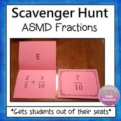 This activity gets students out of their seats. Students get to work at their own pace and think it's a game. They are highly motivated to complete a question since they can self check and get immediate feedback.Students will complete a problem and then look for the answer on top of a different card.