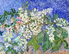Vincent Van Gogh. Blossoming Chestnut Branches, May 1890