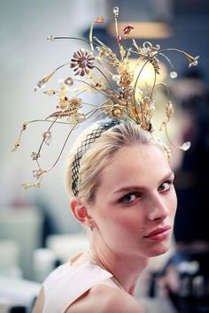 Transgender model Andreja Pejic was in a Guo Pei runway show in 2012