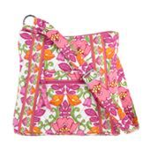 My first Hipster | Vera Bradley in Lily Bell. Great for outdoors and the summery colors cheers me up even in Winter.