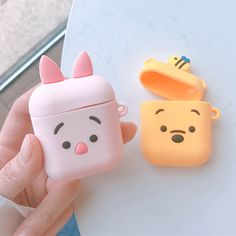 Brown bear Apple Airpods case soft Silicone Pink pig Airpods Earphone Protective Cover – Pin's Page Cute Cases, Cute Phone Cases, Iphone Phone Cases, Airpods Apple, Airpod Case, Airpod Pro, Accessoires Iphone, Earphone Case, Air Pods