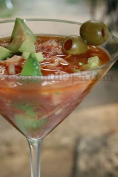 Spicy Crab Martini