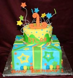 1st birthday cake decorating ideas for boys.