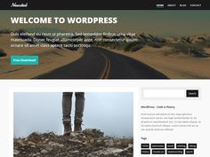 Newsted+Free+WordPress+Theme - CoolHomepages Web Design Gallery