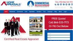 Home Appraisals Inc gets a new mobile website design