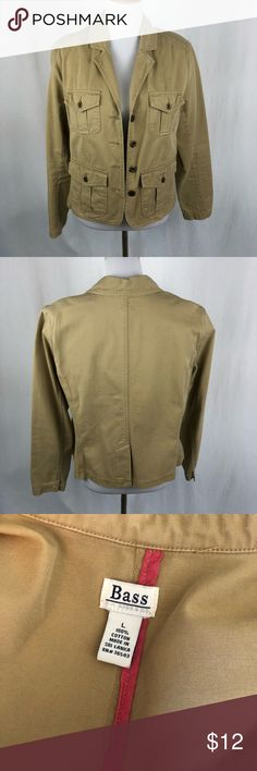 Bass khaki utility jacket size large Used condition. Smoke free/pet friendly home. Make sure to check out my other listings, thanks for looking!  F2 Bass Jackets & Coats Utility Jackets
