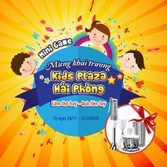 #Minigame_KidsPlazaHN   🎁🎁🎁 Làm thơ hay – Quà liền tay 🎁🎁🎁  😘 Kids Plaza chuẩn bị khai trương siêu thị cực hoành tráng tại TP Hải Phòng rồi đấy các bố mẹ ơi.   <3 Nhân dịp đặc biệt này Ad sẽ dành tặng các bố mẹ 1 minigame vô cùng hấp dẫn nhé!   🎁🎁 Một bộ máy xay cầm tay MQ535 trị giá 1.489.000 VNĐ sẽ dành tặng bố mẹ nào may mắn đáp ưng đủ các điều kiện sau:  ➡ Bước 1: Like Fanpage Kids Plaza  ➡ Bước 2: Like và Share Minigame ở chế độ công khai (Public)  ➡ Bước 3: Điền đáp án và Tags…