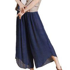 DEHANG Women Casual Light Soft Elastic Waist Slub Cotton ... https://www.amazon.co.uk/dp/B00JFT3PRW/ref=cm_sw_r_pi_dp_x_6-qnyb5FD8DT7