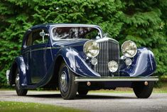 Bentley 3.5 Litre coupe, 1936 - Welcome to ClassiCarGarage
