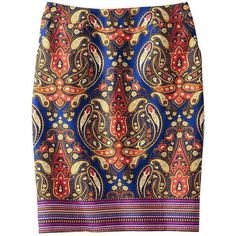 Merona Women's Doubleweave Pencil Skirt - Assorted Prints