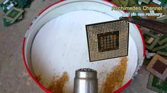 Scrap gold cpu pin recovery