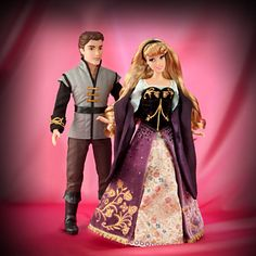 Aurora and Prince Phillip Doll Set - Disney Fairytale Designer Collection