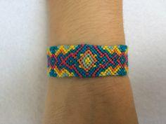 A personal favorite from my Etsy shop https://www.etsy.com/listing/501131956/diamond-zig-zag-friendship-bracelet