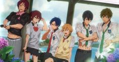 Free! ~~ After being caught in the rain