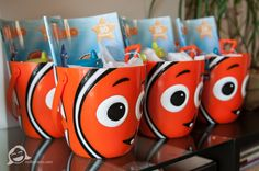 Party favors.  Finding Nemo Birthday Celebration - Charlotte Photographers.  Red K Photography.